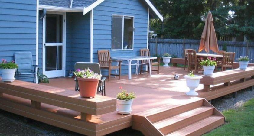 Best Small Deck Designs Ideas Pinterest