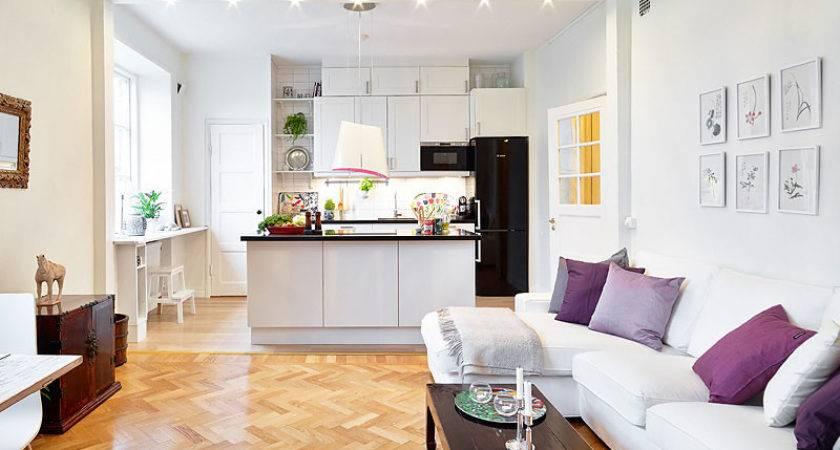 Best Small Open Plan Kitchen Living Room Design Ideas