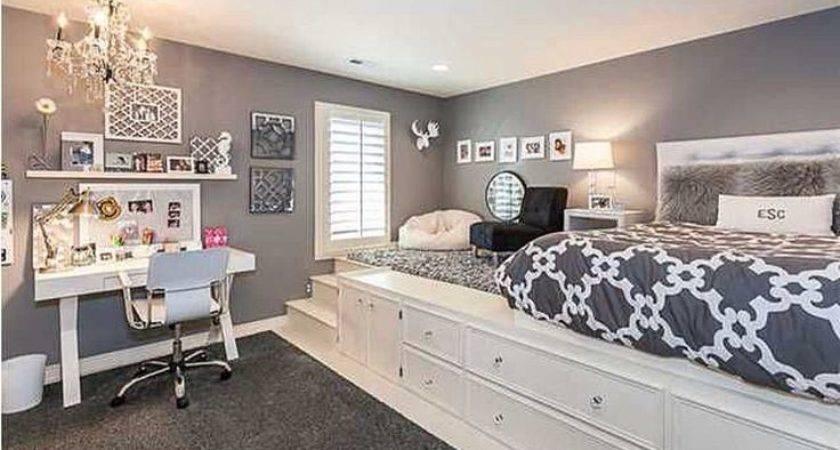 Best Teen Room Storage Ideas Pinterest