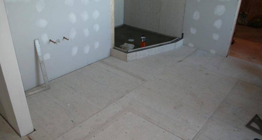 Best Tile Bathroom Floor Backer Board Kezcreative