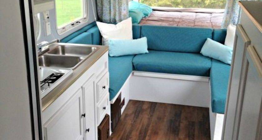 Best Travel Trailer Remodel Ideas Pinterest