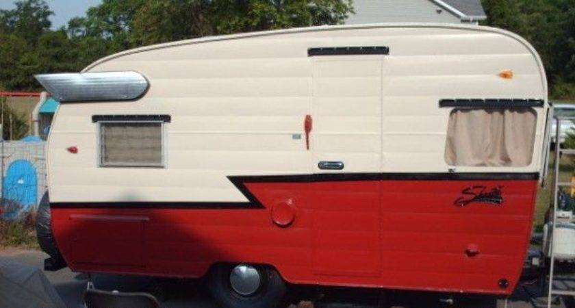 Best Vintage Camping Trailers Pinterest