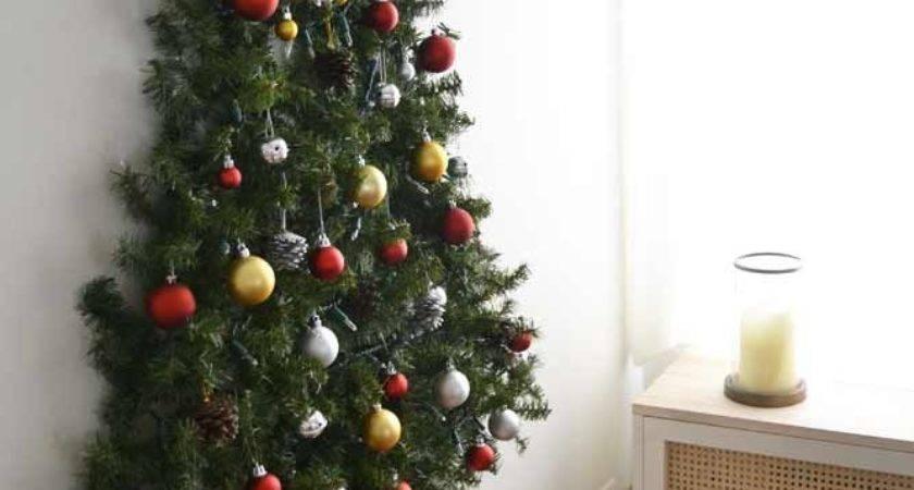 Best Wall Christmas Tree Ideas Pinterest