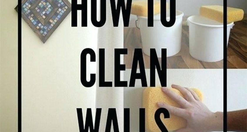 Best Way Clean Walls Otterrun Info