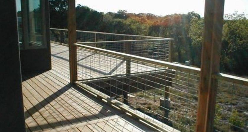 Best Wire Deck Railing Pinterest Dog Fence