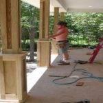 Best Wood Columns Ideas Pinterest