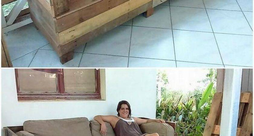 Best Wood Pallet Couch Ideas Pinterest