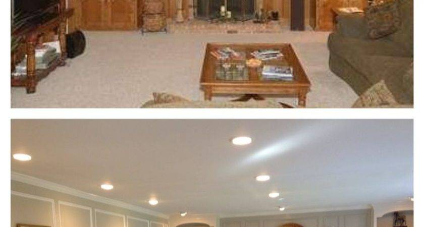 Best Wood Paneling Makeover Ideas Pinterest Paint