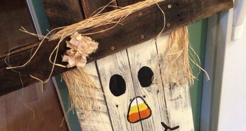 Best Wood Scarecrow Ideas Pinterest