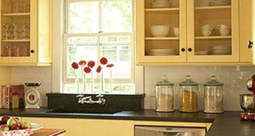 Best Yellow Kitchen Cabinets Ideas Pinterest