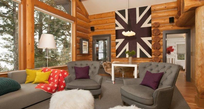 Beyond Aisle Home Envy Log Cabin Interiors
