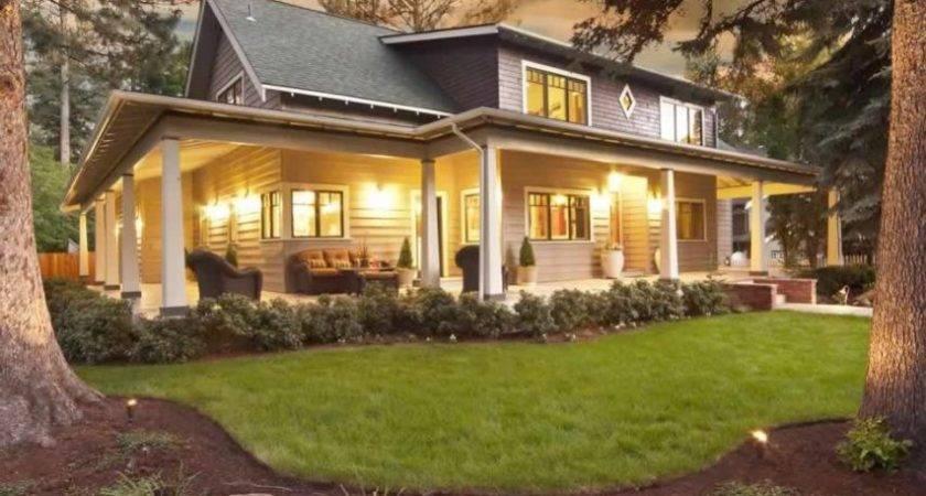 Big Front Porch House Plans Defilenidees