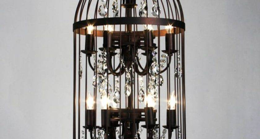 Bird Cage Light Chandelier Shipping Today
