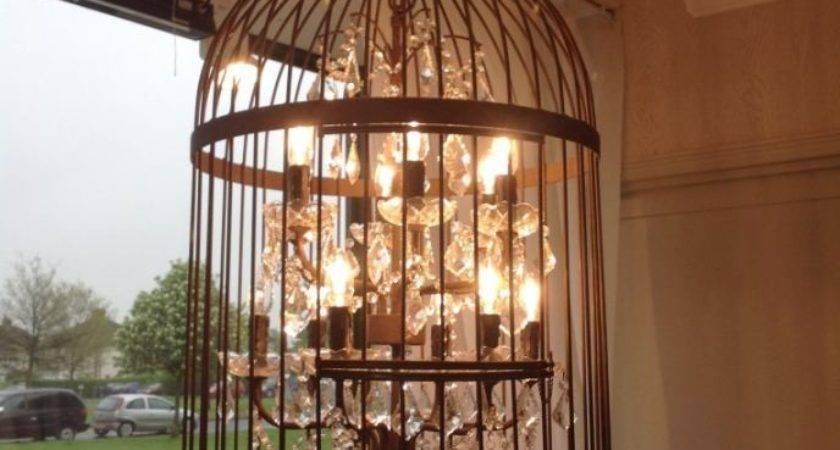 Birdcage Chandelier Light Bird Cage