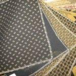 Black Mustard Upholstered Furniture Fabric