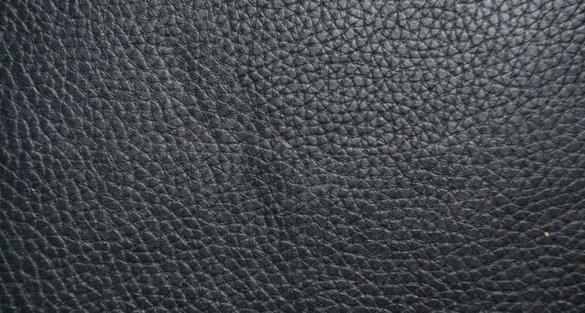 Black Textured Leather Vinyl Fabric Planet