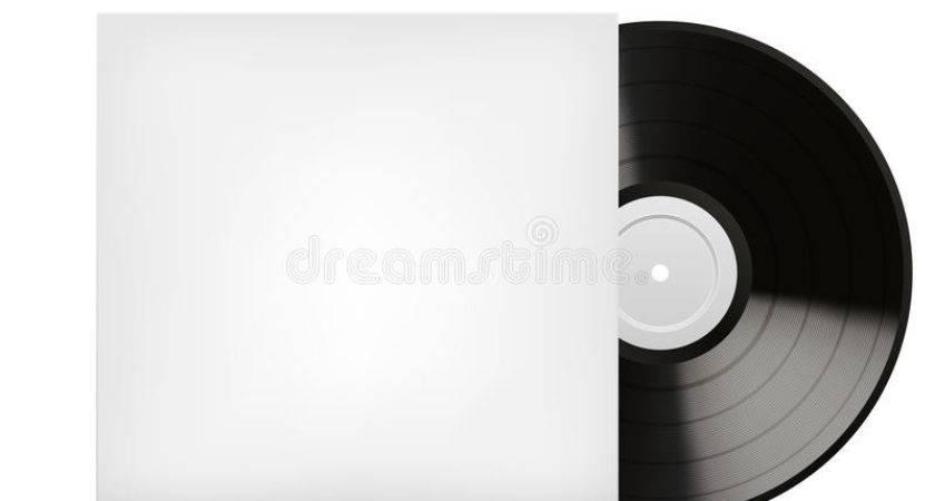 Blank White Vinyl Cover
