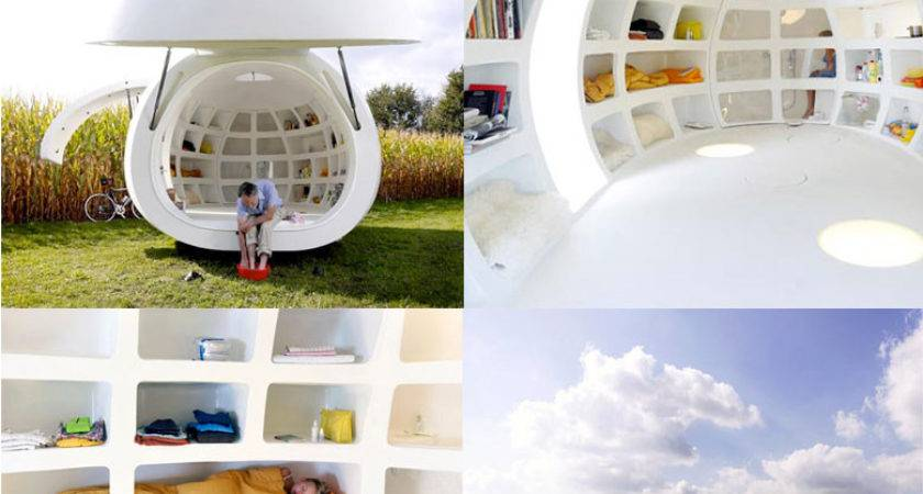 Blob Mobile Living Pod Dmva Architects
