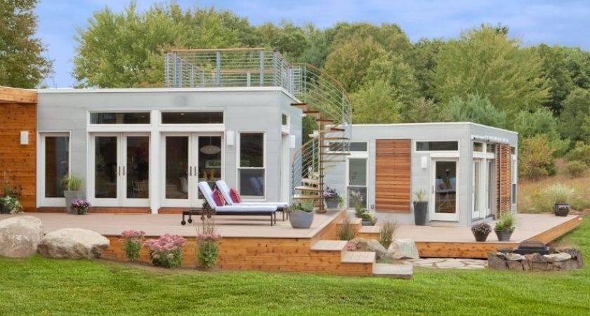 Blu Homes Founder Builds Origin Prefab Artist Studio