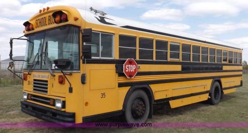 Blue Bird Bus Reserve Auction Tuesday