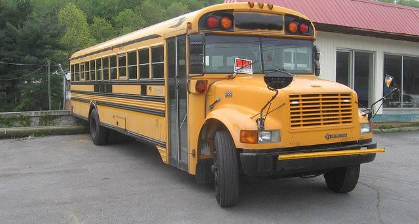 Blue Bird International School Bus Flickr