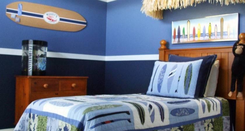 Blue Boys Bedroom Ideas Small Bedrooms Makeover