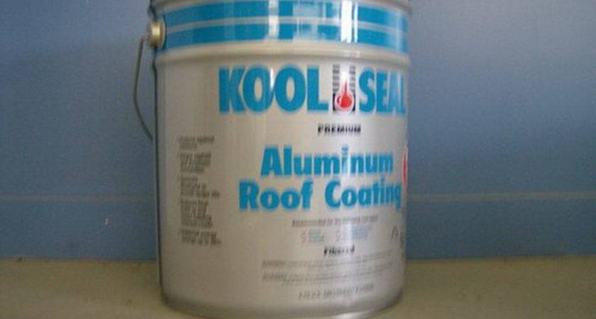 Blue Label Kool Seal Aluminum Roof Coating Mobile Home