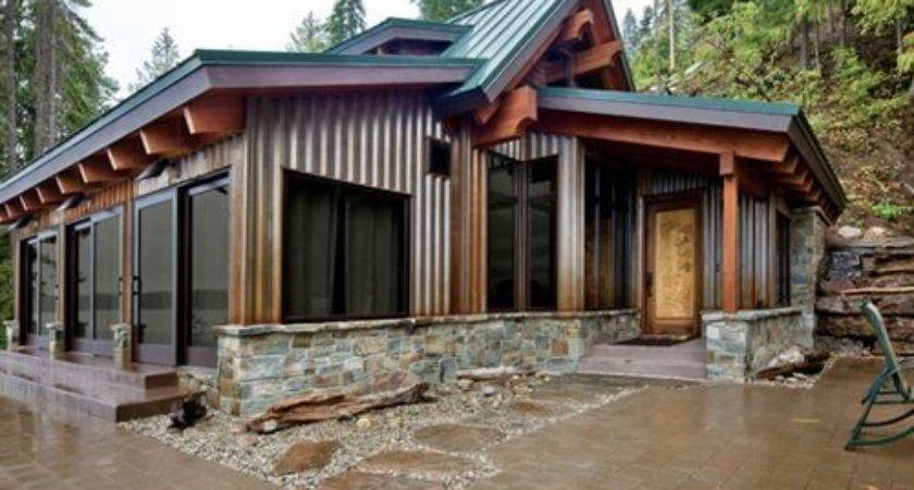 Blue Metal Roof Home Design Ideas Remodel Decor