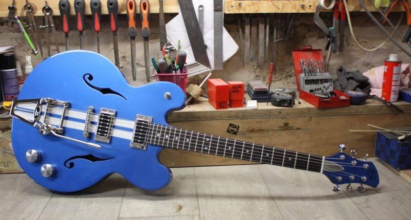 Bluebird Cutomized Meloduende Guitars