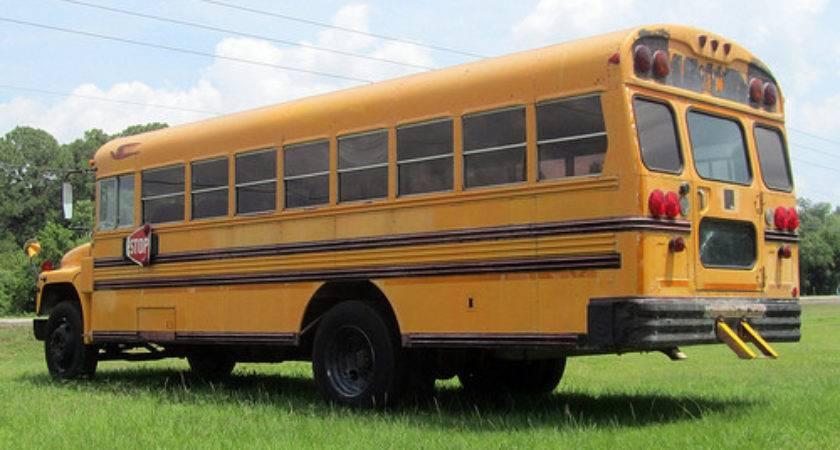Bluebird International Handicapped School Bus