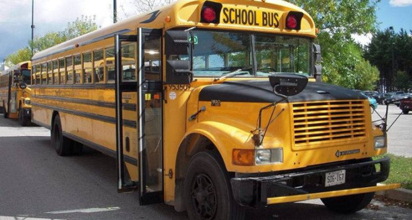 Bluebird International School Bus