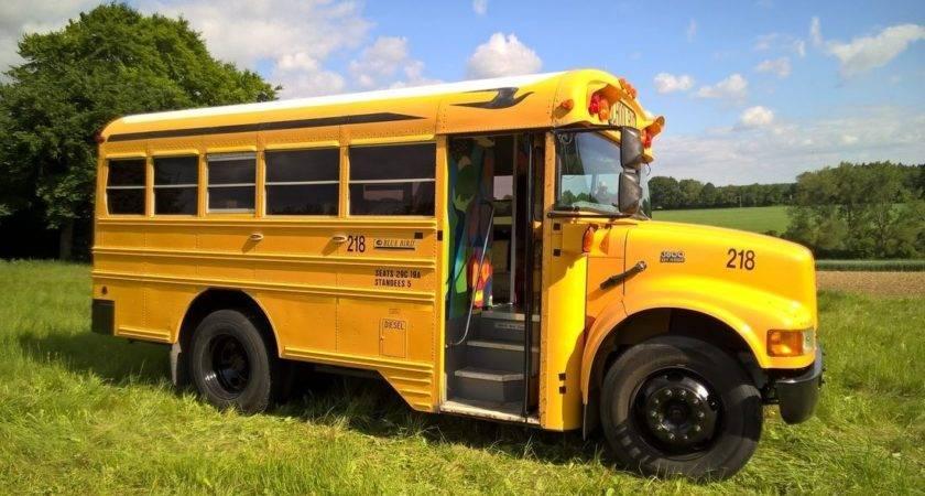 Bluebird Short Bus American Schoolbus Mobile Livin