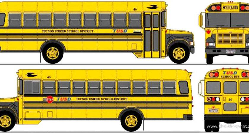 Blueprints Buses Various