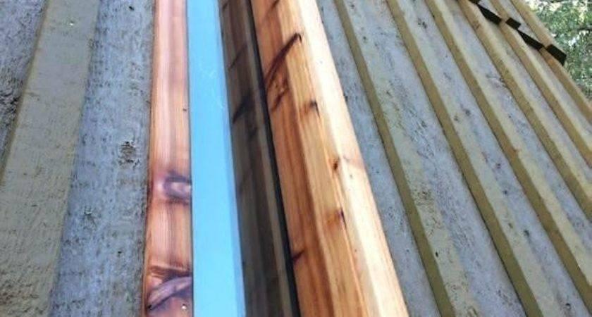 Board Batten Cedar Siding Pine