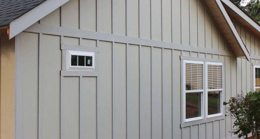 Board Batten Exterior Progress Craftsman Farmhouse