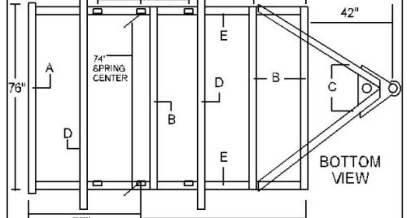 Boat Trailer Blueprints Tran