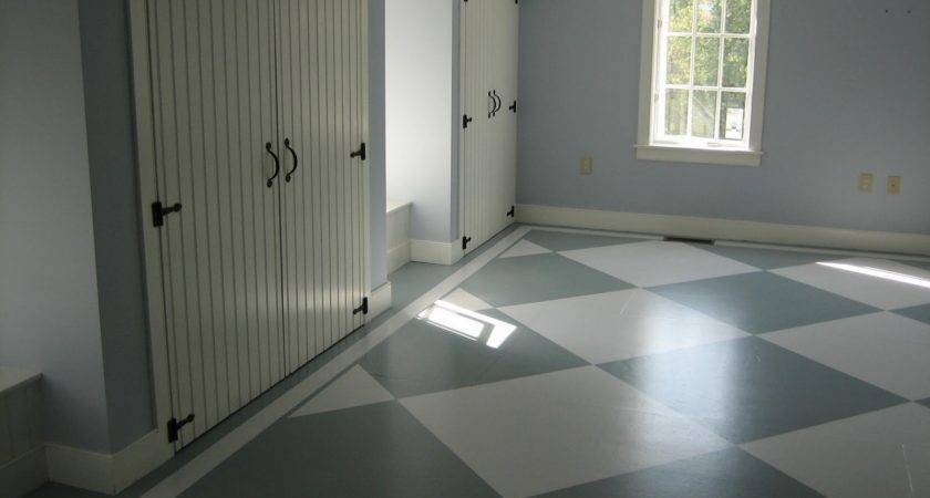 Boys Room Painted Subfloor Tutorial