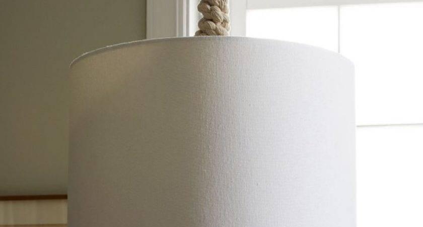 Braided Rope Pendant Contemporary Lighting