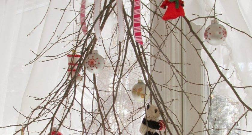 Branch Christmas Decor Crafts Mode