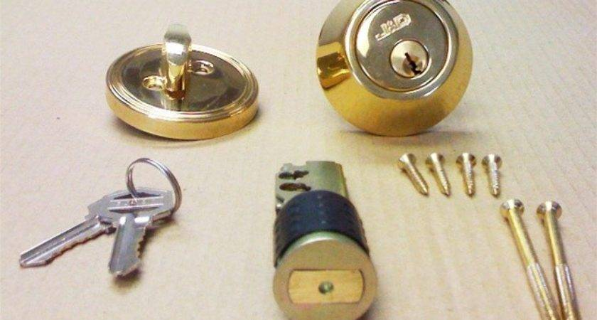 Brass Deadbolt Lock Mobile Home Manufactured Housing