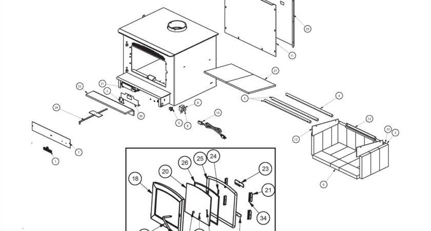 Breckwell Wood Stove Insert Parts