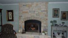 Brick Fireplace Remodel Modern Stone Fireplaces Cultured