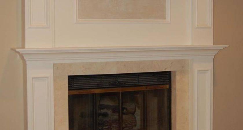 Brick Laminate Fireplace Remodel