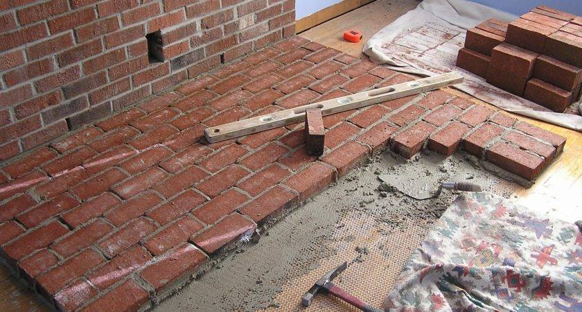Brick Laminate Hearths