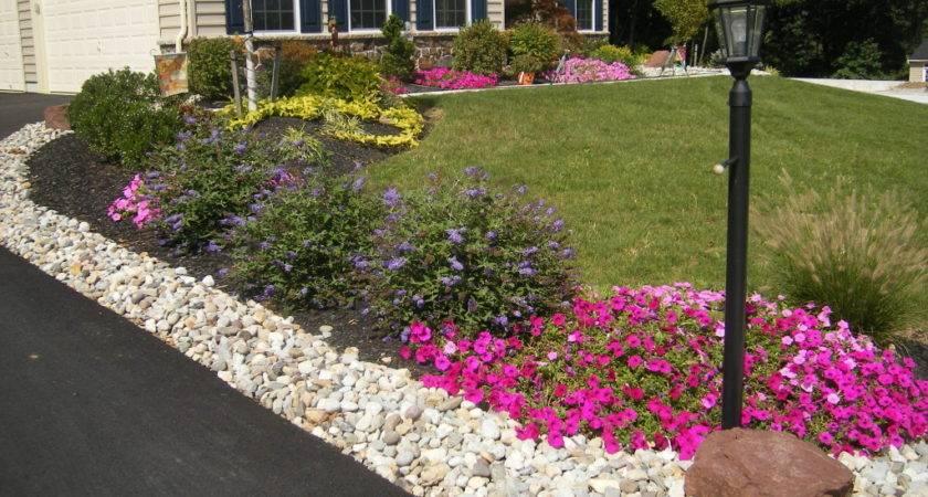 Brick Landscape Design Driveway Ideas