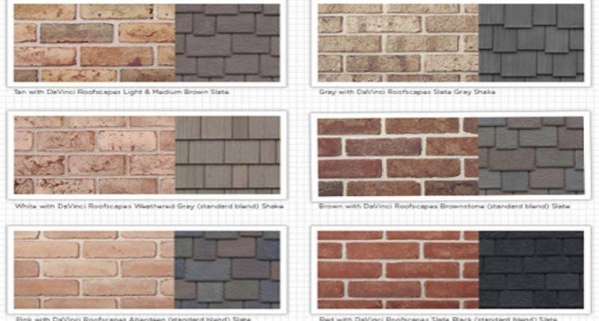 Brick Siding Color Combinations