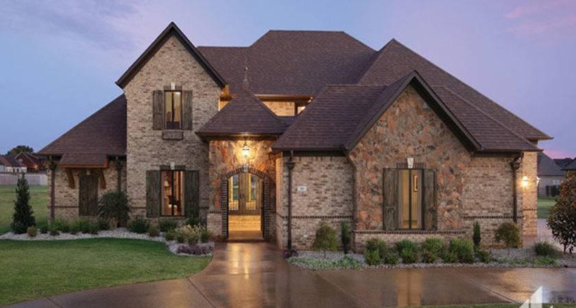 Brick Stone Combination Home Ideas