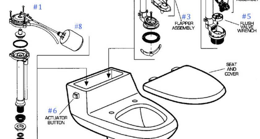 Briggs Toilet Tank Parts Diagram Mansfield