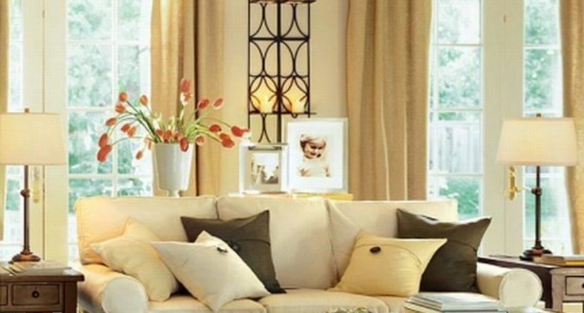 Brighton Beach Contemporary Warm Living Room Interior