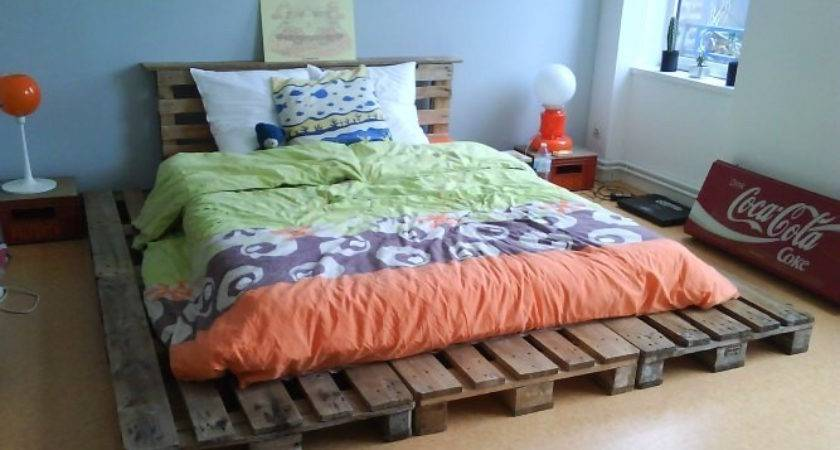 Brilliant Wooden Pallet Bed Frame Ideas Your House